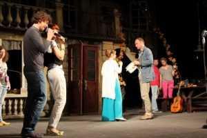 Севастопольцы открыли театральный фестиваль в Брянске