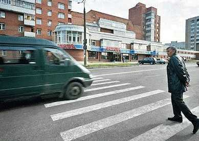 "В Брянске легковушка сбила на ""зебре""  пешехода"