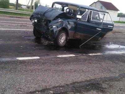 На брянской трассе водитель без «прав» устроил смертельное ДТП