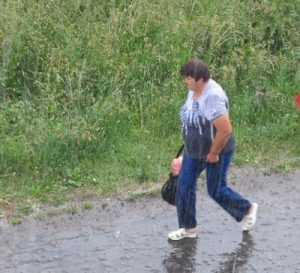 Брянск ожидают  грозовые дожди с градом и ураганный ветер