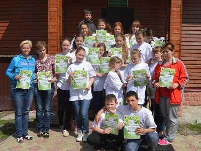 В брянском заповеднике прошла детская экологическая экспедиция