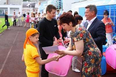 Брянские дошколята побывали на спортивном празднике
