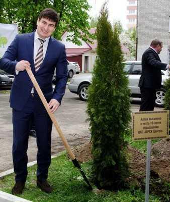 В Брянске появилась «энергетическая» аллея