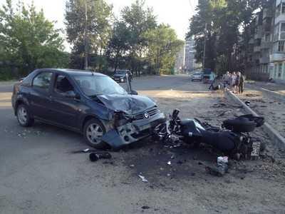 В Брянске разбившийся мотоциклист впал в кому
