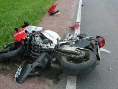 В Почепе пьяный мотоциклист сломал себе ногу