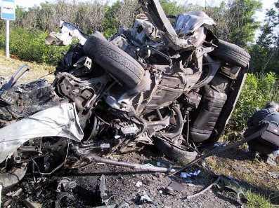 В ДТП на брянской трассе погибли женщина с 7-летней дочерью