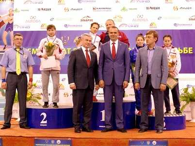 Брянская спортсменка победила на чемпионате России по борьбе