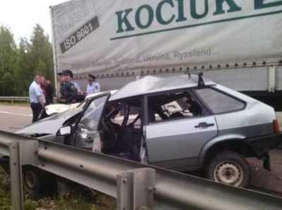 Два человека погибли, четверо ранены в ДТП около брянской Алешни