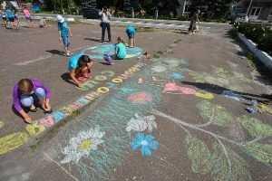 Суземские дети создали  планету мечты