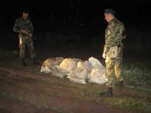Между брянской Хинелью и украинской Барановкой нашли 8 мешков с мясом
