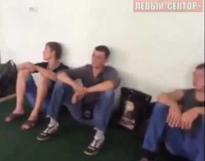 Украинские пограничники сдались луганским ополченцам
