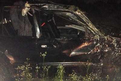 Во Мглине погиб водитель «БМВ», двое ранены