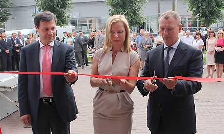 В Брянске с намеком открыли офис банка «Россия»
