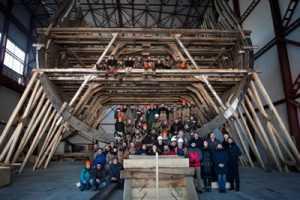 Из брянских дубов в Петербурге построят копию корабля «Полтава»