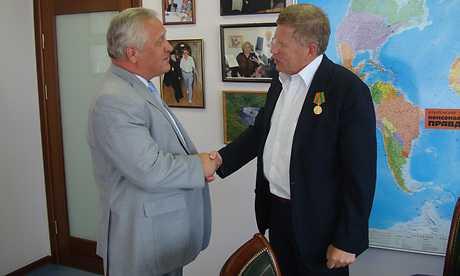 Брянский губернатор послал ласковое слово редактору «Комсомольской правды»