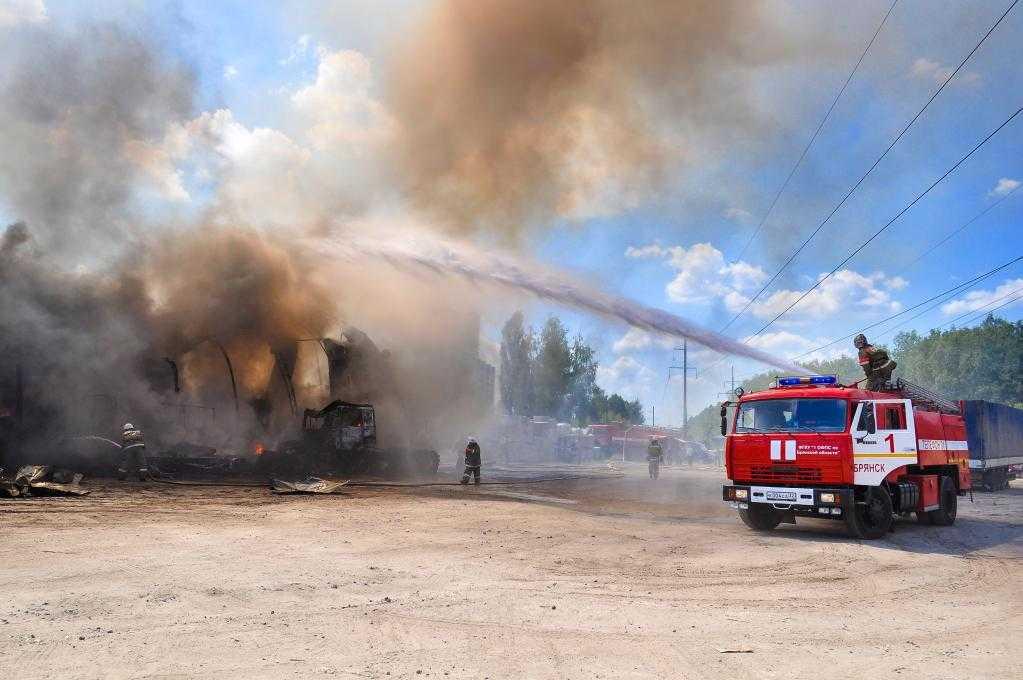 При пожаре в Новозыбковском районе погибли два человека