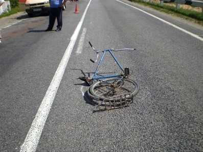 Под Брянском «ГАЗель» сбила велосипедиста