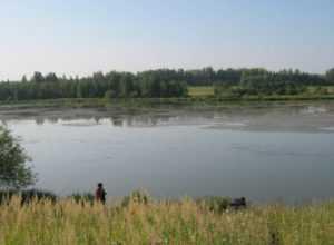 В посёлке Климово из пруда подняли тело пенсионерки