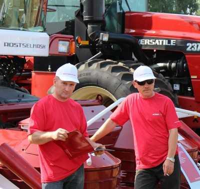 В Стародубе у брянских фермеров прошел  международный День поля