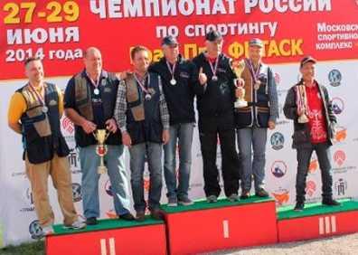 Команда брянских стрелков победила на чемпионате России
