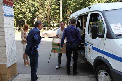 """Сотрудники """"Брянскэнерго"""" собрали благотворительную помощь для Юго-Востока"""