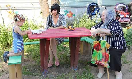 Брянский губернатор встретился с беженцами