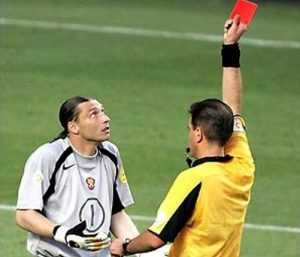Брянский футболист после матча избил судью