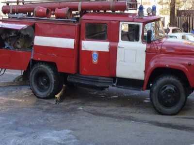 В Новозыбкове сожгли автомойку