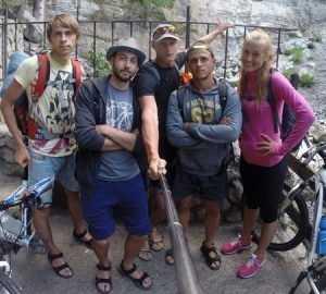 Основатели брянского «Штурма» исколесили на велосипедах российский Крым