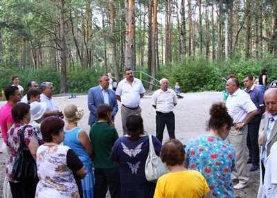 Принадлежащий брянцам Есенинский лес власть даровала им же