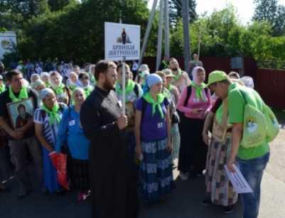 Брянцы совершили крёстный ход  в честь 700-летия Сергия Радонежского