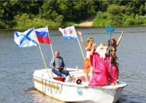 Праздник военных моряков в Брянске прошёл без происшествий