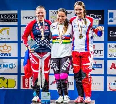 Брянская велосипедистка взяла «бронзу» на первенстве мира