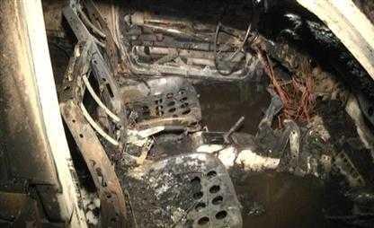 На брянской трассе сгорел «Пассат»