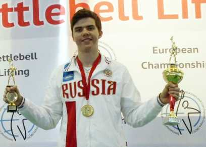 Брянские гиревики завоевали «золото» первенства Европы