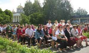 В брянских Ляличах провели фестиваль «Славянская душа»