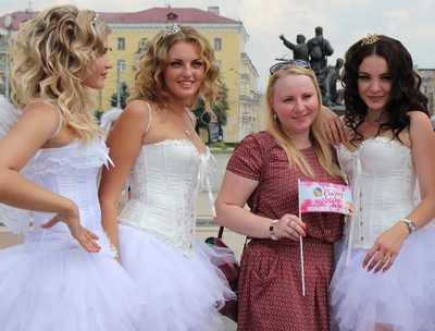 В воскресенье Брянск примет парад невест