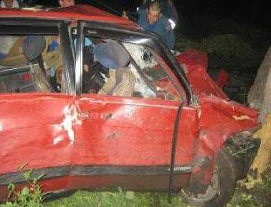 Под Брянском пьяный водитель убил молодую пассажирку