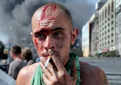 Вернувшиеся с  войны украинские военные начали убивать земляков