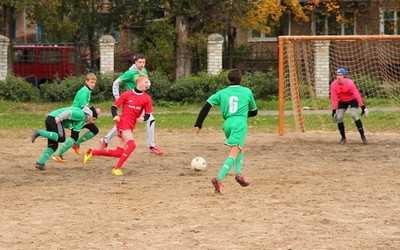 Под болтовню о детях брянские власти оставили их без футбольных полей