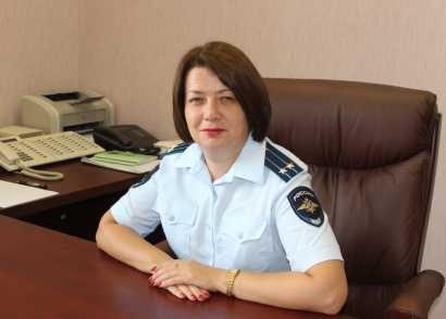 Главным следователем брянского УМВД стала подполковник из Иванова