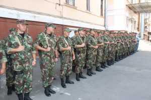 Сотрудники брянского ОМОна вернулись из Чечни