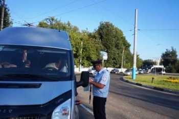 В Брянске за сутки наказали 52 водителя маршруток
