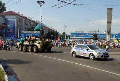 Празднование Дня ВДВ в Брянске обошлось без происшествий