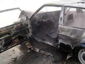 Тело пропавшего брянского рыбака нашли в сгоревшей машине