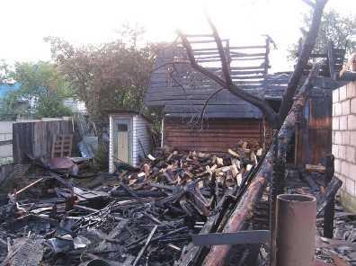 В новозыбковском селе сгорела 16-летняя девушка