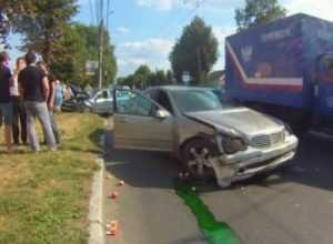 Автомобилистка устроила ДТП в центре Брянска — пострадали двое