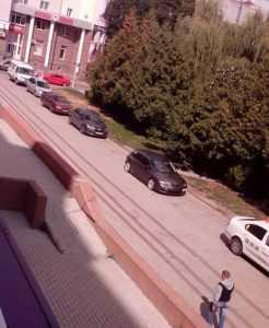 Брянские пацаны не испугались полиции и снова осадили сквер Проскурина