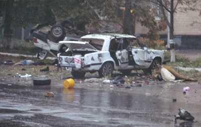 За брянской границей в украинской Шостке взорвали два автомобиля