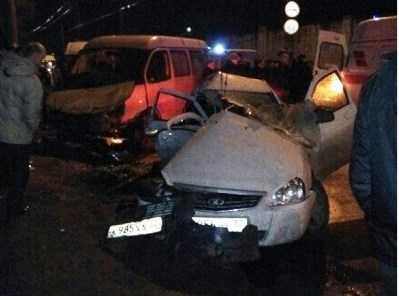 Осуждён погубивший пассажирку брянец, врезавшийся в маршрутку